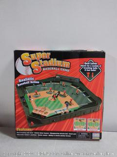 Game Zone Super Stadium Baseball Game with Realistic Baseball Action (online $38)