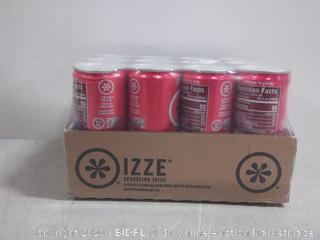 izze sparkling juice pomegranate 8.4 fluid ounces 12-count