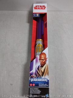 Star Wars bladebuilders electronic lightsaber Mace Windu (online $27)