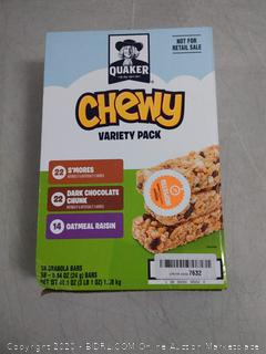 Quaker chewy variety pack