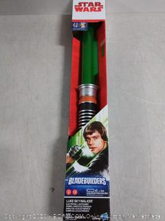 Star Wars bladebuilders electronic lightsaber Luke Skywalker (online $27)
