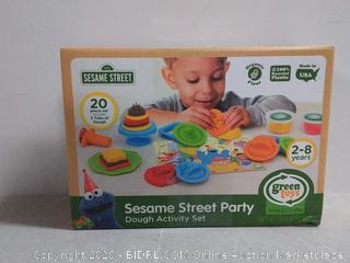 Sesame Street party dough Activity Set (online $25)