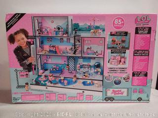 L.O.L. Surprise! Real Wood House w/ New Family & 85+ Surprises (online $154)