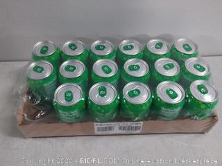 bubly Sparkling Water, Lime, 12 ounce Cans (Pack of 17