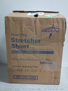 Medline tissue stretcher sheets (online $37)