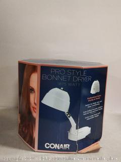 Conair HH320RX Pro Style Adjustable Bonnet Hair Dryer, White