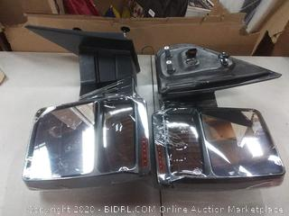 Autodayplus For Ford Towing Mirrors SCITOO Exterior (scratched back)