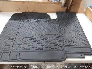 FH group car floor mats black