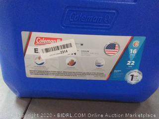 Coleman 16-Quart Portable Excursion Cooler for Picnics & BBQs