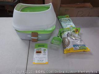 Purina Tidy Cats Breeze Cat Litter Starter Kit for Multiple Cats Box (bent side)