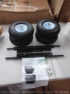 Honda eu3000is all-terrain wheel kit