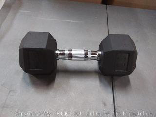 perform better 20 lb dumbbell