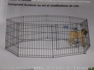 Midwest Container Exercise Pen With Step-thru Door