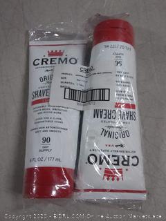 cremo original formula concentrated shave cream classic
