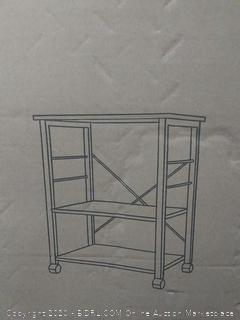 three tier kitchen baker's rack