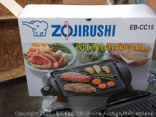 Zojirushi indoor electric grill (powers on)
