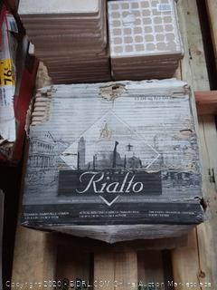 rialto square 6x6 tile( 3 Boxes and a half)