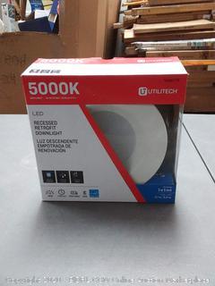 Utilitech 5000K Daylight LED RECESSED RETROFIT DOWN LIGHT