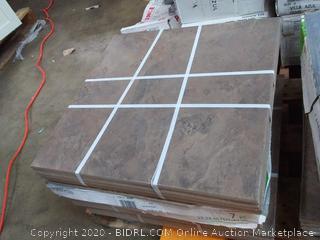 Canyon 7-piece Canon espresso flooring tile 15.26 square feet(56 tiles 8 boxes)