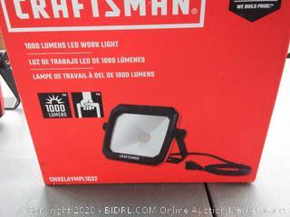 CRAFTSMAN 1000-Lumen 12-Watt LED Portable Work Light(powers on)