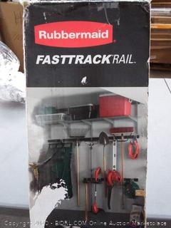 Rubbermaid FastTrack rail 12-piece kit