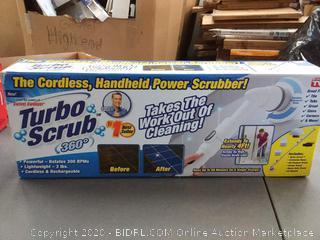 turbo scrub 360 the cordless handheld power scrubber