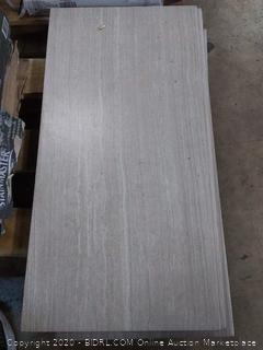 renewed beige porcelain tile 12 x 24(9 pieces)