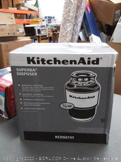 KitchenAid 3/4 HP Continuous Feed Garbage Disposal