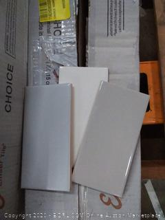 Emser Choice three color time design 3 x 6 tiles 136 pieces per box 16.46 sq ft(3 boxes 408 pcs