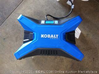 Kobalt 12-volt / 120v inflator(powers on)