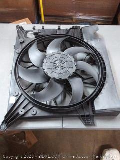 TYC Automotive cooling fan assy TIY-30562