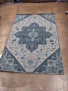 Nuloom Galicha 5'x8' blue area rug
