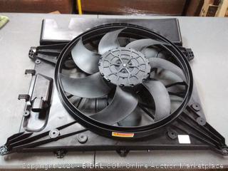 TYC Automotive cooling fan