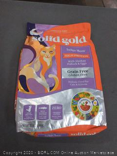 Solid Gold Indigo Moon high protein with Alaskan pollock and eggs cat food