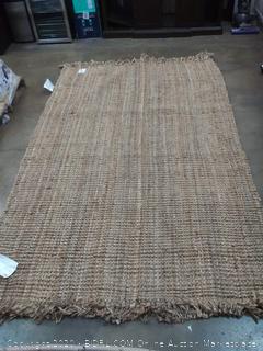 Nuloom wool woven natrua 6'x9' rug