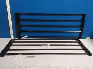 Perma child safety black 12in extension gate