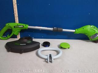 Greenworks 13-Inch 4 Amp Corded String Trimmer