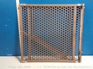 Safety 1st Vintage Grey Wood Security Gate(slider broken)