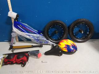 Diwenhouse kids Balance Bike blue(paint chipped)