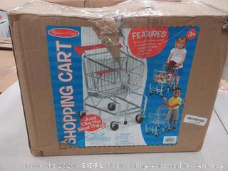 Melissa & Doug Shopping Cart Toy - Metal Grocery Wagon # 4071