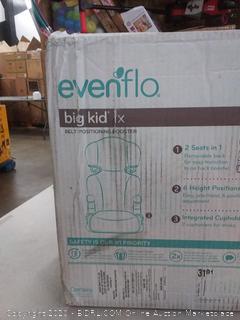 Evenflo Big Kid LX belt positioning booster 30 - 110 lb limit