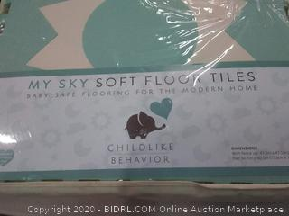 childlike behavior my sky soft floor tiles ages and up