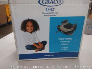 Technology Galaxy: Graco Affix Backless Youth Booster Seat with