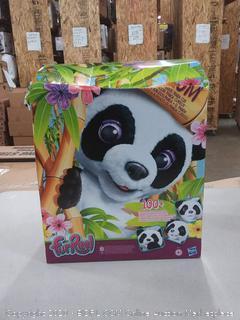 FurReal Friends Plum The Curious Panda Bear Interactive Kids