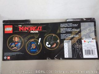 Disguise Jay Lego Ninjago Movie Deluxe Costume Blue Small (4-6