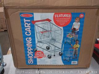 Melissa & Doug Kids Grocery Shopping Cart