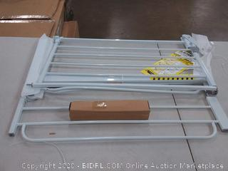 regalo easy step metal walk through safety gate White slight damage to bar