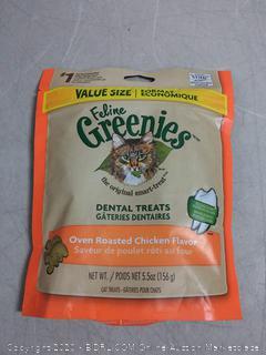 Greenies 10163 Fel 5.5 Ounce Chicken Treat