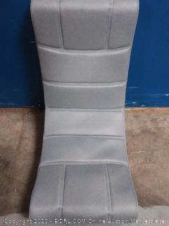Harvil Ergonomic Video Gaming Floor Rocker Chair, Grey (online $65)