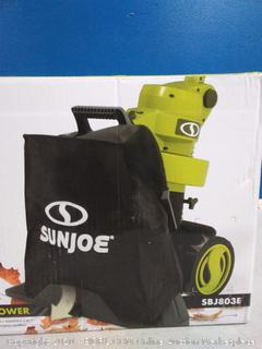 Sun Joe SBJ803E 14-Amp Electric 3-in-1 Walk Behind(Factory Sealed/Box Damage) COME PREVIEW!!!!! (online $123)